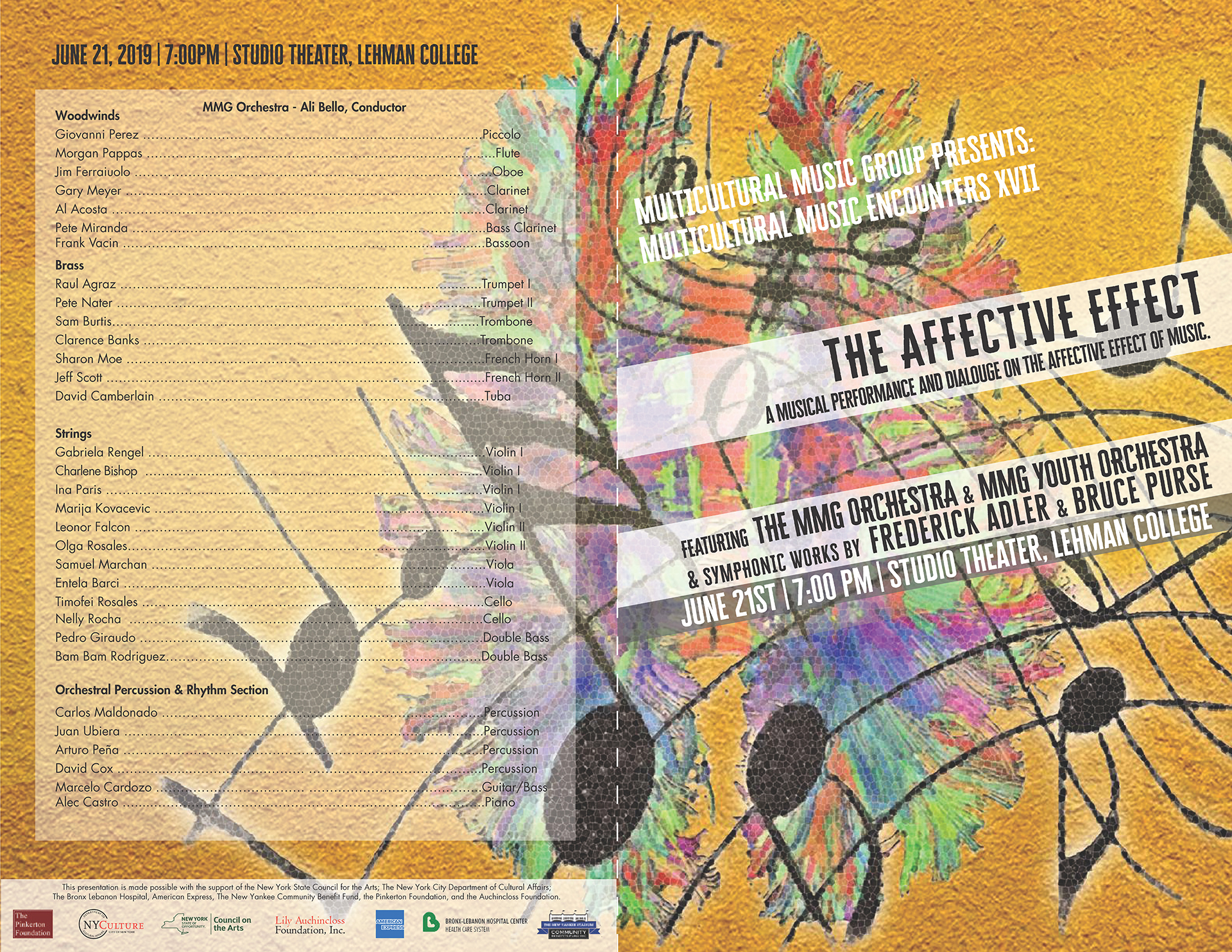 The Affective Effect – Multicultural Music Group